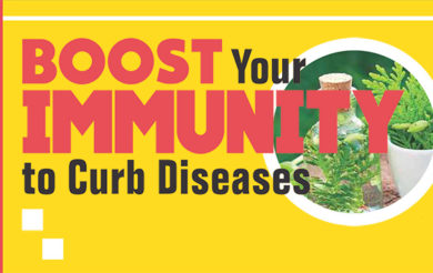 Boost your Immunity to Curb Diseases