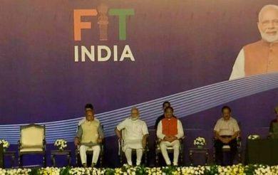 PM Narendra Modi Launches Fit India Movement in Delhi